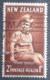 Poštovní známka Nový Zéland 1952 Princ Charles Mi# 320