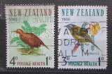 Poštovní známky Nový Zéland 1966 Ptáci Mi# 451-52