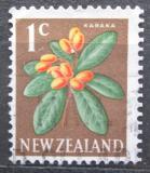 Poštovní známka Nový Zéland 1967 Kyjovec hladký Mi# 457