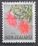 Poštovní známka Nový Zéland 1967 Metrosideros fulgens Mi# 464