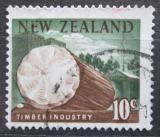 Poštovní známka Nový Zéland 1967 Těžba dřeva Mi# 467