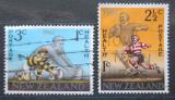 Poštovní známky Nový Zéland 1967 Rugby Mi# 475-76