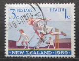 Poštovní známka Nový Zéland 1969 Kriket Mi# 505