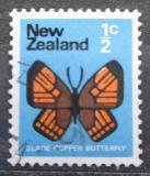 Poštovní známka Nový Zéland 1970 Chrysophanis salustius Mi# 517