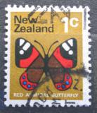 Poštovní známka Nový Zéland 1970 Vanessa gonrilla Mi# 518