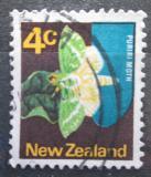 Poštovní známka Nový Zéland 1970 Hepialus virescens Mi# 522