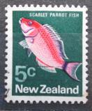 Poštovní známka Nový Zéland 1970 Pseudolabrus coccineus Mi# 523