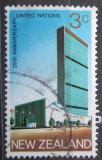 Poštovní známka Nový Zéland 1970 Budova OSN v New Yorku Mi# 541