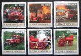 Poštovní známky Svatý Tomáš 2003 Hasičská auta Mi# 2271-76 Kat 11€