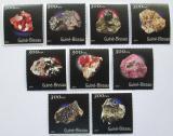 Poštovní známky Guinea-Bissau 2001 Minerály Mi# 1543-51 Kat 11€
