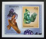 Poštovní známka Guinea-Bissau 2010 Minerály DELUXE Mi# 4986 Block