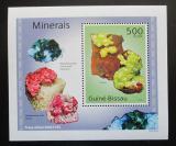 Poštovní známka Guinea-Bissau 2010 Minerály DELUXE Mi# 4988 Block