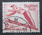 Poštovní známka Německo 1935 ZOH Garmisch-Partenkirchen, skoky na lyžích Mi# 601