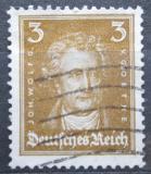 Poštovní známka Německo 1926 Johann Wolfgang von Goethe Mi# 385