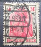 Poštovní známka Německo 1920 Germania Mi# 153