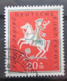 Poštovní známka Německo 1958 Jezdec Mi# 287 Kat 4.50€
