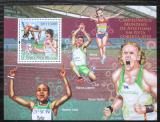 Poštovní známka Svatý Tomáš 2010 Halové MS v lehké atletice Mi# Block 778 Kat 11€