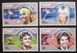 Poštovní známky Niger 2014 Tenisti Mi# 3259-62 Kat 12€