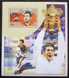Poštovní známka Niger 2014 Novak Djokovič, tenis Mi# Block 396 Kat 10€