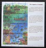 Poštovní známky Palau 1998 Legenda Orachel Mi# 1330-41 Kat 14€