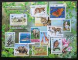 Poštovní známka Svatý Tomáš 2010 Fauna WWF na známkách Mi# Block 793 Kat 11€