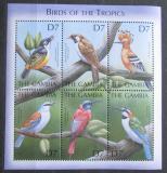 Poštovní známky Gambie 2000 Tropičtí ptáci Mi# 3928-33 Kat 11€