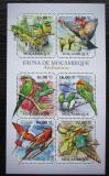 Poštovní známky Mosambik 2011 Ptáci Mi# 4868-73 Kat 12€