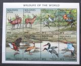 Poštovní známky Maledivy 1996 Fauna Mi# Mi# 2725-32 Kat 11€