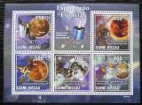 Poštovní známky Guinea-Bissau 2010 Průzkum vesmíru Mi# 4545-49 Kat 11€