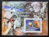 Poštovní známka Guinea-Bissau 2010 Průzkum vesmíru Mi# Block 739 Kat 10€