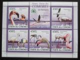 Poštovní známky Komory 2009 Plameňáci Mi# 2402-06 Kat 10€