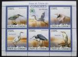 Poštovní známky Komory 2009 Volavky Mi# 2377-81 Kat 9€
