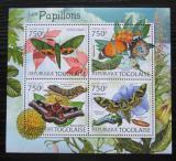 Poštovní známky Togo 2012 Motýli Mi# 4423-26 Kat 12€