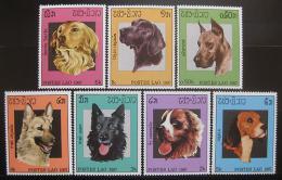 Poštovní známky Laos 1987 Psi Mi# 981-87 - zvětšit obrázek