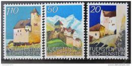 Poštovní známky Lichtenštejnsko 1986 Hrad Vaduz Mi# 896-98 - zvětšit obrázek