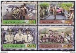 Poštovní známky Papua Nová Guinea 2007 Skauting Mi# 1233-36 - zvětšit obrázek