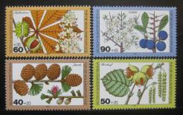 Poštovní známky Západní Berlín 1979 Lesní rostliny Mi# 607-10 - zvětšit obrázek