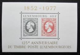 Poštovní známky Lucembursko 1977 První známky Mi# Block 10 - zvětšit obrázek