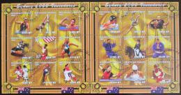 Poštovní známky Mosambik 2001 LOH Sydney Mi# 1888-1905 - zvětšit obrázek