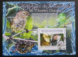 Poštovní známka Guinea 2009 Teorie evoluce, Darwin Mi# Block 1689 - zvětšit obrázek
