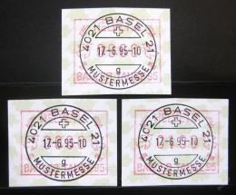 Poštovní známky Švýcarsko 1995 Známky z automatu Mi# 6 - zvětšit obrázek