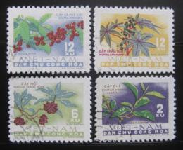 Poštovní známky Vietnam 1962 Úroda Mi# 196-99 - zvětšit obrázek