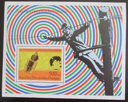 Poštovní známka Madagaskar 1976 Telefon Mi# Block 12 - zvětšit obrázek