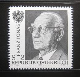 Poštovní známka Rakousko 1974 Prez.ident Franz Jonas Mi# 1458 - zvětšit obrázek