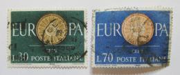 Poštovní známky Itálie 1960 Evropa CEPT Mi# 1077-78 - zvětšit obrázek