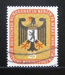 Poštovní známka Západní Berlín 1956 Orlice Mi# 137 Kat 5€ - zvětšit obrázek