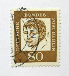 Poštovní známka Západní Berlín 1961 Heinrich von Kleist Mi# 211 Kat 10€ - zvětšit obrázek