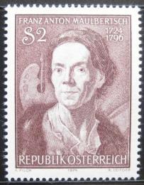 Poštovní známka Rakousko 1974 Franz Mauelbertsch, malíř Mi# 1455 - zvětšit obrázek