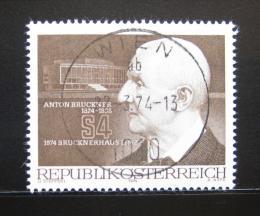 Poštovní známka Rakousko 1974 Anton Bruckner, skladatel Mi# 1443 - zvětšit obrázek