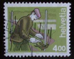 Poštovní známka Švýcarsko 1994 Vinař Mi# 1523 - zvětšit obrázek